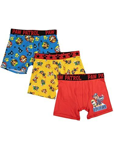 8-Pack Toddler//Little Kid//Big Kid Size Briefs Rocky Marshall Ryder Chase TEN28 by Handcraft Paw Patrol Boys Kids Underwear