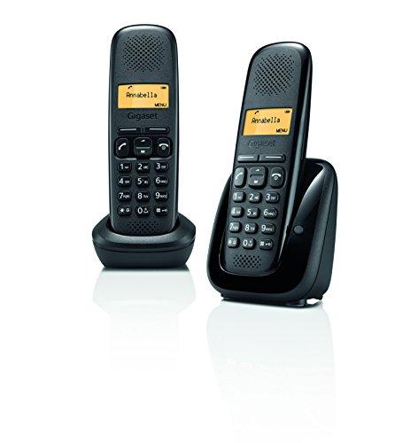 Gigaset A150 - Teléfono inalámbrico, Color Negro