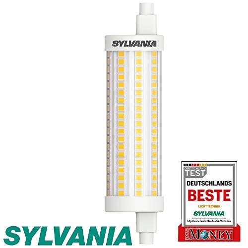 Sylvania R7S LED 118mm Stablampe - LED Halogen Ersatz (12,5 Watt, 1521 lm, Lichtfarbe: 2700 K), LED Leuchtmittel warmweiß [Energiesparend]