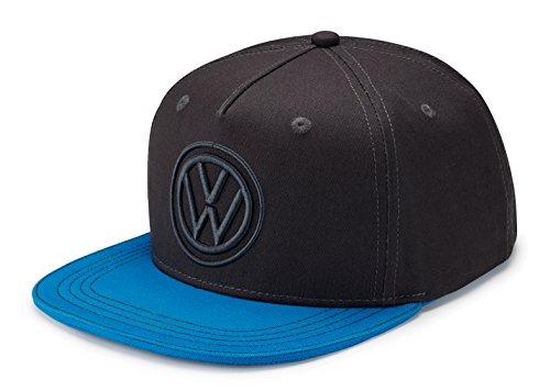 Volkswagen 33D084300 Cap Basecap Snapback Truckerstyle Original VW Baseballcap Mütze, blau/dunkelgrau