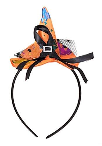 Lovelegis Diadema con sombrero de bruja – Halloween –