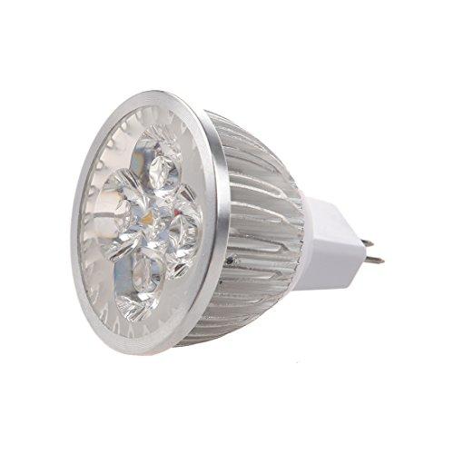 Luntus 4 * 1W GU5.3 MR16 12V Warmweiss LED-Licht Lampe Birne Scheinwerfer