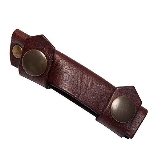 Cowryman Cuillère Couteau à découper Crochet Couteau Fourreau en Cuir Voleur Couteau Coque Sac Housse pour Mora 162 163 164