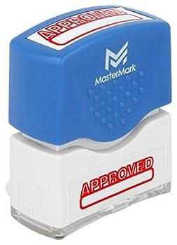Approved Stamp – MasterMark Premium Pre-Inked Office Stamp