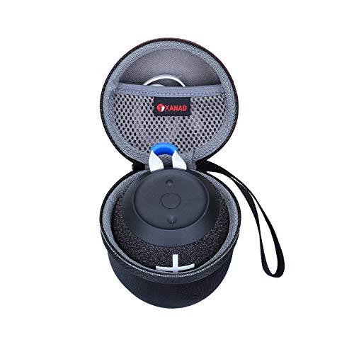XANAD Estuche rígido de Viaje para Ultimate Ears WONDERBOOM 2 Deep Space - Bolsa Protectora de Almacenamiento