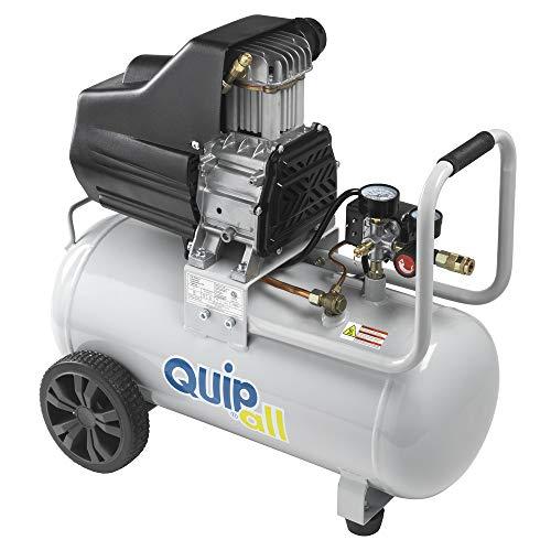 Quipall 8-2 2 HP 8 Gallon Oil Free Hotdog Air Compressor