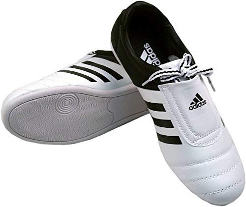 Adidas Zapatos del Entrenamiento del Kick Adi - Blanco Negro UK 9 - EU 43 ⭐