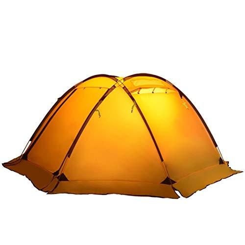 JooGoo Outdoor Tent Dome 3-4 Personen Ultra Licht Camping Automatische Camping Dubbele Riot Riot Riot Verdikking Tent Vier Seizoenen