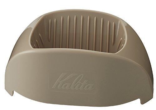 カリタ Kalita コーヒー ドリッパー 1杯専用 カフェ・トール ブラウン #04093