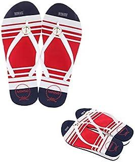 Miniso Women's White Flip Flops(L 40-41)4509757433810