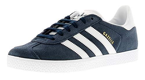 adidas Gazelle, Zapatillas Unisex Niños, Azul (Collegiate Navy/Footwear White/Footwear White 0), 35.5 EU