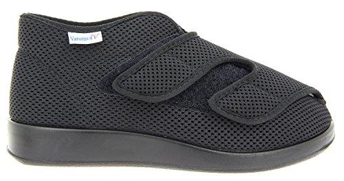 Varomed Parma 60.922, buty do rehabilitacji dla dorosłych, czarny - czarny - 45 EU X-Weit