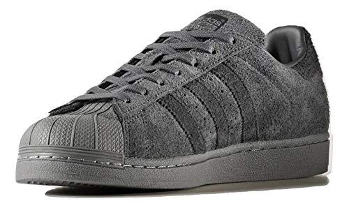 adidas Herren Superstar Sneaker, Grigio (Gricin/Neguti/Neguti), 37.5 EU