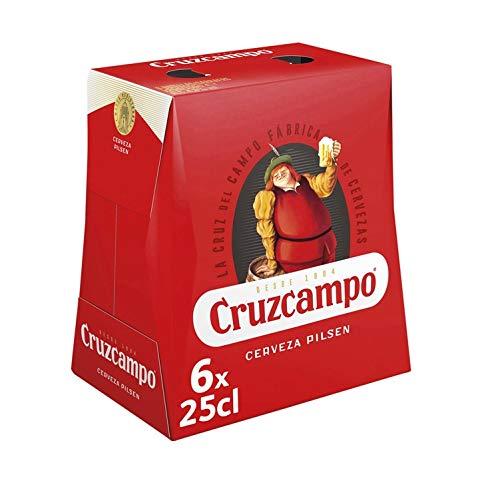 Bier Cruzcampo Pilsen 6x25cl (Pack 6 Flaschen)