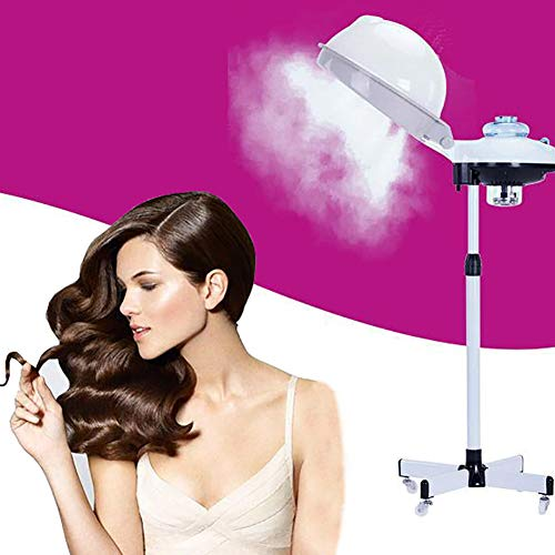 Broccoli Stand Sèche-Cheveux Capot Vapeur À Cheveux pour Teinture pour Les Cheveux Traitement des Cheveux Coiffure Salon De Coiffure Utilisation À La Maison avec 60 Min Minuterie De Chaleur