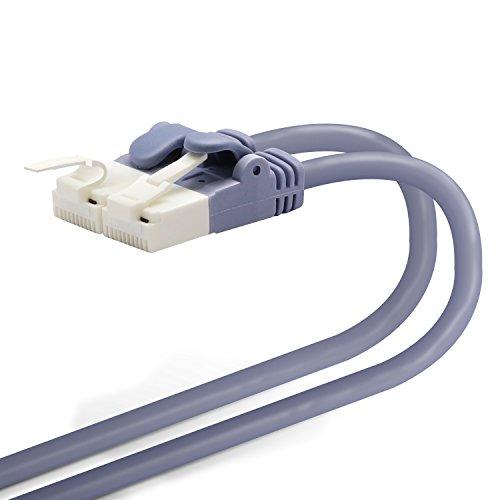 エレコム LANケーブル CAT6A 15m ツメが折れない 爪折れ防止コネクタ cat6a対応 スタンダード ブルー LD-GPAT/BU150