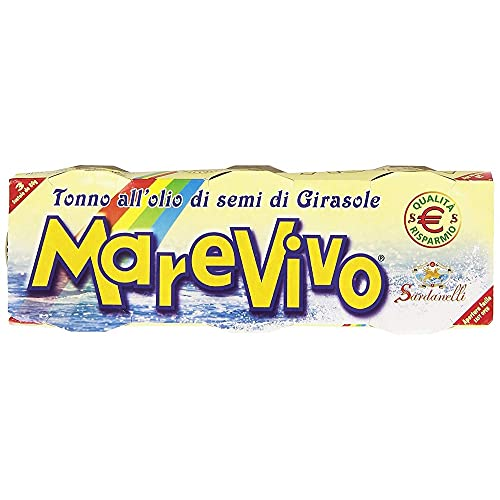 Marevivo - Sardanelli, Tonno all'Olio di Semi di Girasole - 240 g