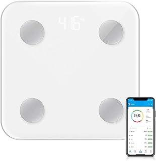 DQST Báscula Digital Corporal y Muscular,Balanza Inteligente, 17 Datos Analizados, Conexión via Bluetooth al App, Precisió...