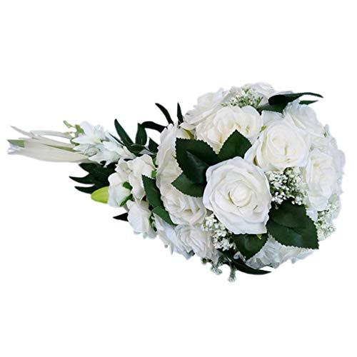 Harilla Wedding Romantic Bouquet Bridal Bridal Bouquets Bridesmaid Bouquet - E