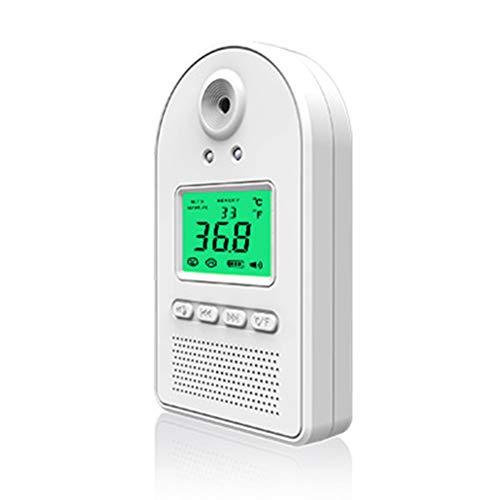Sunmery - Detector de temperatura por infrarrojos sin contacto con sensor de temperatura inteligente con alarma de pantalla digital