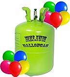 trendmile Premium Helium Ballongas XXL - 3X Heliumflasche für 150 Ballons