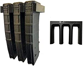 Tactical Pro Sports 3X AR-15 PMAG Wall Mount | Magazine Display | Wall Storage Organization System | Unique Low Profile Design | Gun Safe Wall Garage | Gun Room Mounting Solution