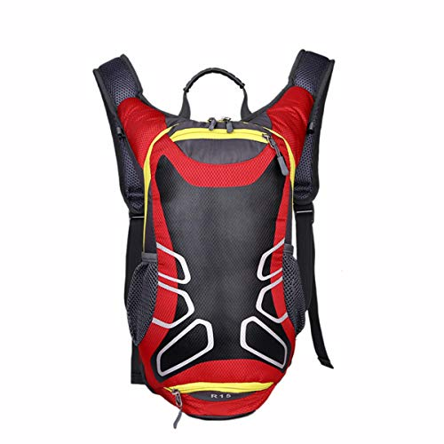 New 15L bicycle backpack, basketball backpack, sports backpack, bicycle outdoor backpack (red)