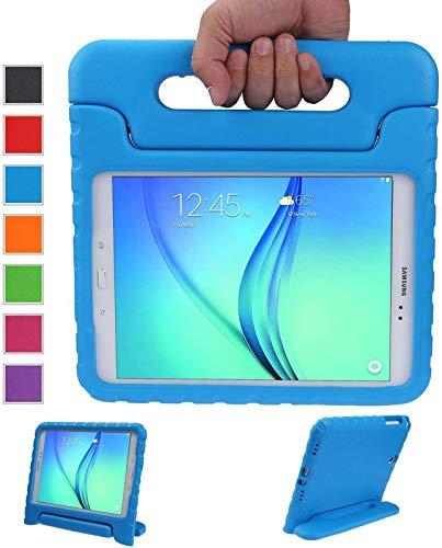 LEADSTAR Kinds Funda para Samsung Galaxy Tab A 9.7 caso niños EVA destinado a prueba de golpes cubierta estuche protector caso para Samsung Tab A SM-T550 P550 9.7 Pulgadas - Azul