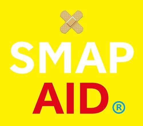 スマップ・エイド(しあわせのYELLOW-AIDハンカチ、げんきのRED-AIDハンカチのいずれか1種封入)