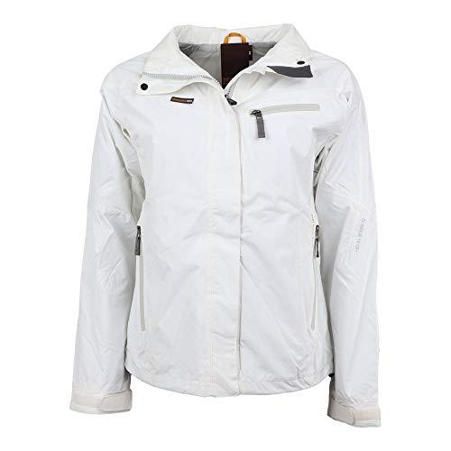 Didriksons Eagle Women's Jacket - Regenjacke, Größe_Bekleidung_NR:38, Farbe:Snow White