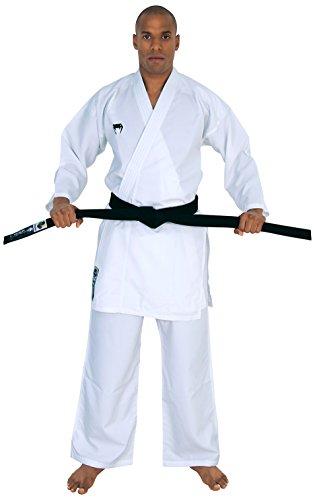 VENUM Elite–Kimono Kumite, Todo el año, Unisex, Color Blanco - Blanco, tamaño 175