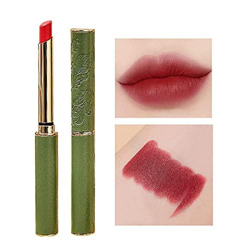 6 Farben Wasserdicht Matt Lippenstift, wasserdichte Langlebige Lipgloss Antihaft-Tasse Lipgloss Kussechter Pflegender Lippenstift,Matte Lippenstifte