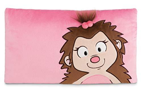 NICI 44072 Kissen Igel Mädchen Hedda rechteckig 43X25cm, Pink