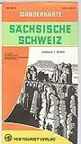 Sächsische Schweiz Wanderkarte DDR