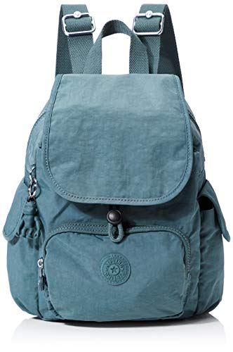 Kipling City Pack Mini - Zaino Donna, Verde (Light Aloe), 27x29x14 cm