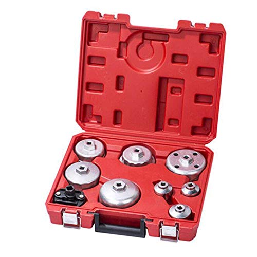 ZTBXQ Wohnaccessoires 9-teiliges Auto Auto Repair Tools Ölfilter-Schraubenschlüsselsatz Umweltschutz Ölschlüsselsatz