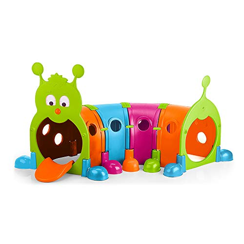 Product Image of the ECR4Kids - ELR-12520 Gus Climb-N-Crawl Caterpillar, 4 Sections, Vibrant