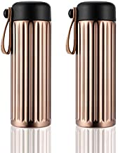 Vacuum Flask 450ml Double Wall Stainless Steel Insulated Thermos Flask