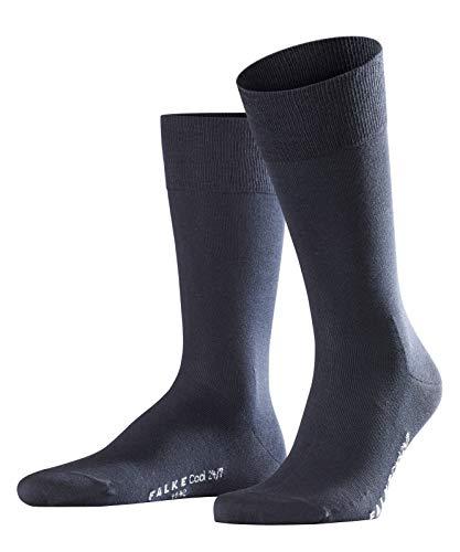 FALKE Herren Cool 24/7 M SO Socken, Blickdicht, Blau (Dark Navy 6370), 43-44 , 1 Paar