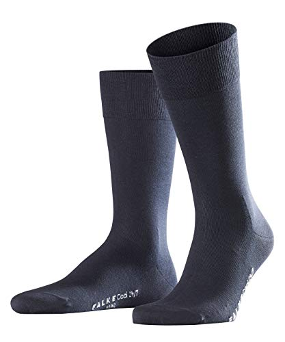 Falke Herren Socken  Cool 24/7, 1er Pack, Blau (Dark Navy 6370), 43-44