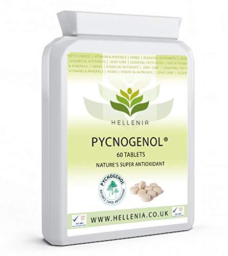 Hellenia Pycnogenol - French Maritime Pine Bark Extract 30mg - 60 Tablets