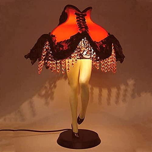 Lámpara de piernas Sexy - Hermoso Vestido de Noche Luces LED - Medias navideñas Réplica de lámpara de Pierna, Decoración de luz Nocturna Sexy Adecuada para Fiestas en el Dormitorio