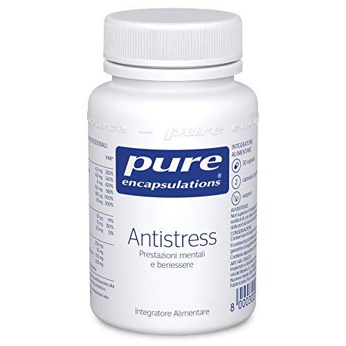 Pure Encapsulations - Antistress - Con Vitamine e Oligoelementi per il Benessere Mentale e Fisico - 30 Capsule