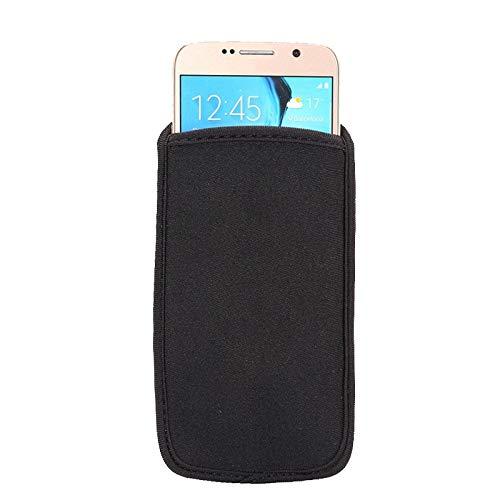 N/A, custodia universale in neoprene antiurto per smartphone, per iPhone, Samsung, custodia morbida per telefono (dimensioni: per iPhone 11 Pro Max (6')