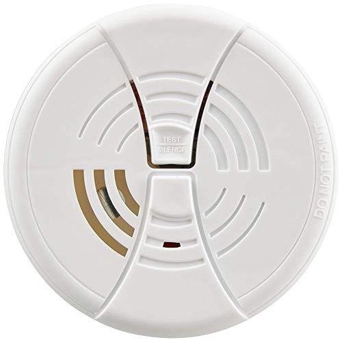 "First Alert BRK FG250B Dual Ionization Smoke Alarm with 9-Volt Battery, 1"", White"