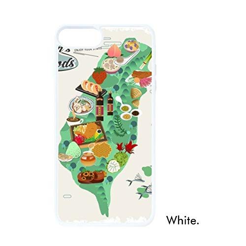 DIYthinker Taiwan Foods Kaart China Honing Koffie Wit Phonecase Apple Cover Case Gift
