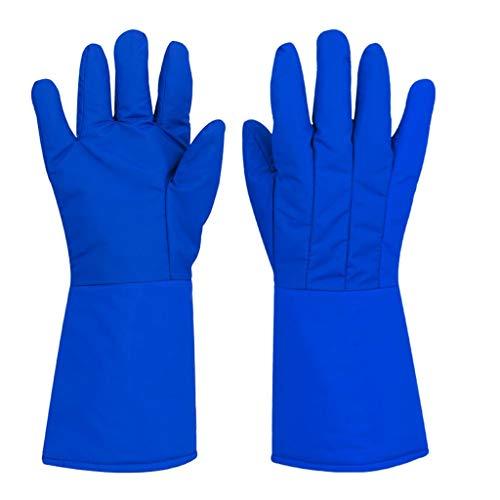 XJZxX Handschuhe Niedertemperatur-Testhandschuhe Frostschutzmittel Stickstoffhandschuhe Warme Handschuhe Kaltlagerung Kalthandschuhe Trockeneis-Schutzhandschuhe (Size : 37cm)