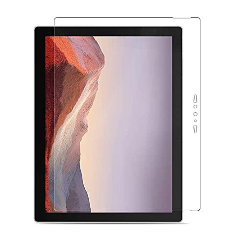 MEGOO Bildschirmschutzfolie für das Neue Surface Pro 7 / Pro 7 Plus, einfache Installation/High Response/gehärtetes Glas, kompatibel mit Microsoft Surface Pro 7 / Pro 7 Plus 12,3 Zoll (Modell 1866)
