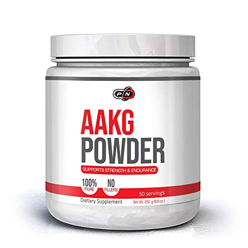 L-Arginine AAKG Powder Nitric Oxide Booster Supplement 5000mg|Pure L Arginine Alpha Ketoglutarate Amino Acid for Muscle Growth Extra Strength Pump Vascularity Energy and Endurance|50 100 200 Servings