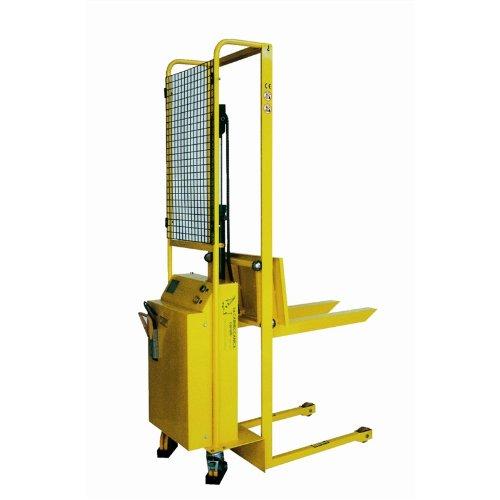 Carmeccanica Sollevatore manuale con alzata elettrica completo di batteria e raddrizzare